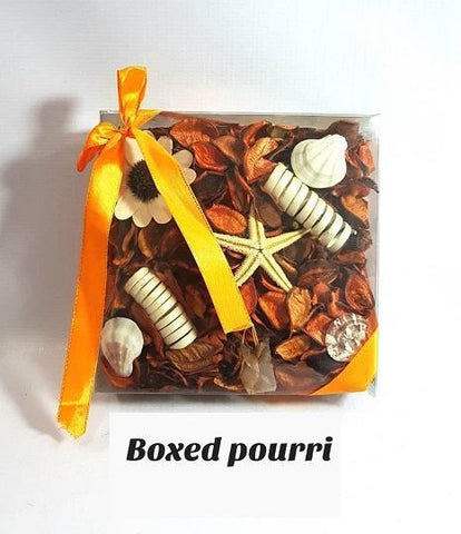 Boxed Orange Potpourri