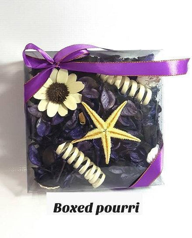 Boxed Purple Potpourri
