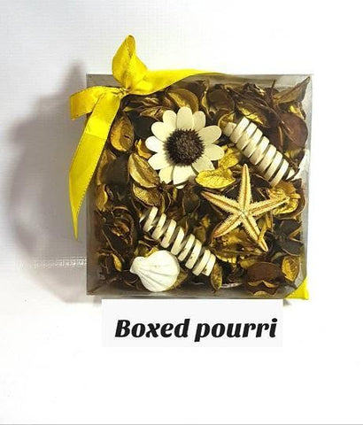 Boxed Yellow Potpourri