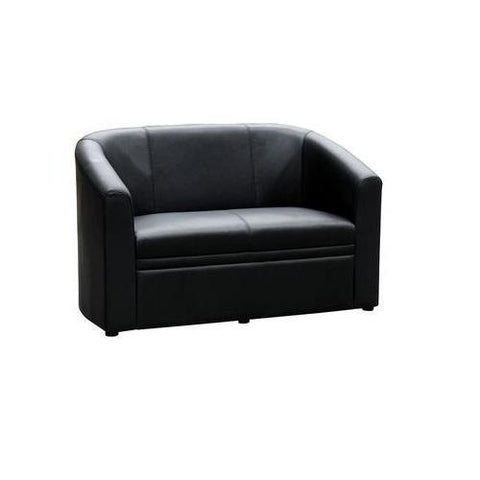 Brighton PU Leather Tub Double Lounge Chair