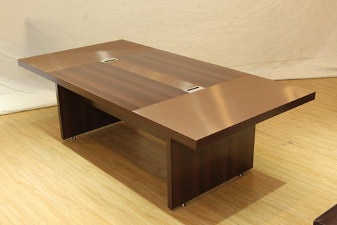 Brown 8 Seater Conference Table (BG128)