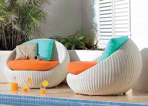 Bubble Garden Rattan Chair
