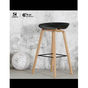 Cape Bar Stool-Black