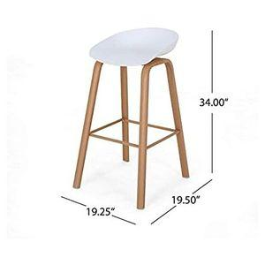 Cape Bar Stool-White