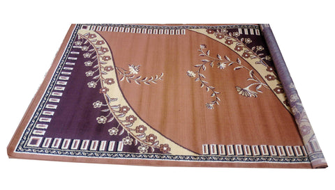 Centre Rug -50108 Brown Series