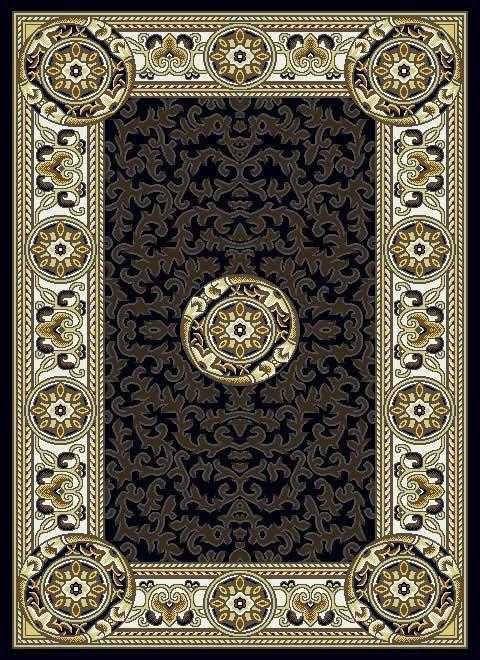 Centre Rug - 84102 CBrown Series