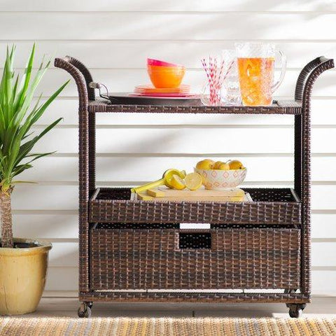 Cervinus Bar Serving Cart