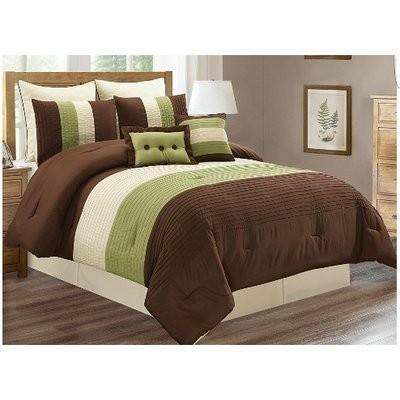 Chocolate City Bedding Set - 9pcs