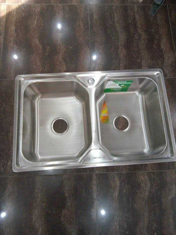 CHOICE KITCHEN DOUBLE BOWL SINK-N0116
