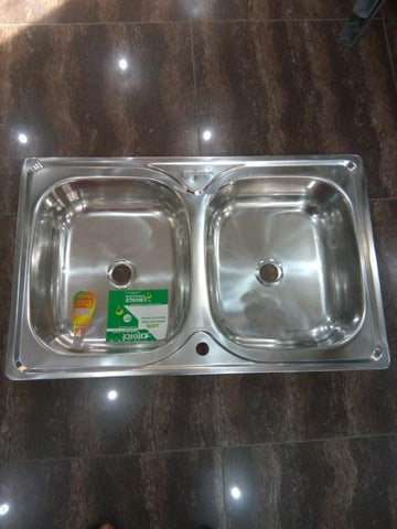 CHOICE KITCHEN DOUBLE BOWL SINK-N0126