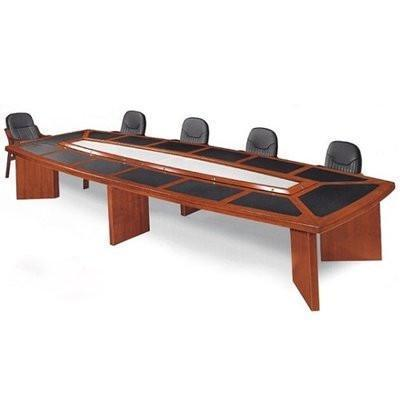 Conference Table With Padded Top -10 Seater