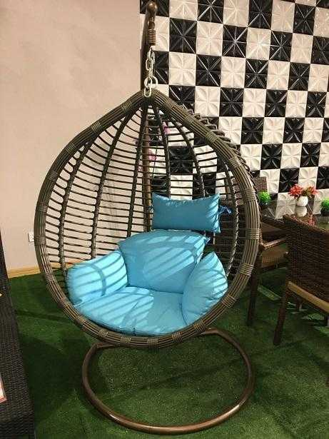 Congo Rattan Hanging Chair -001