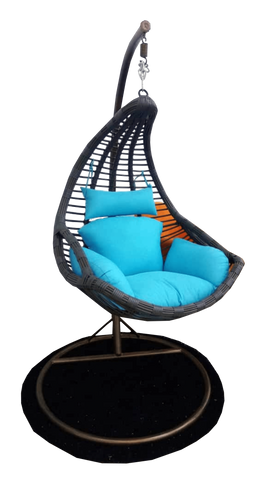 Congo Rattan Hanging Chair-002