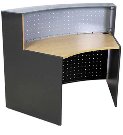 Crescent Reception Desk -1.4Mtrs