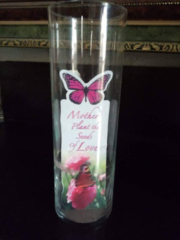 Cylinder candle holder/flower vase