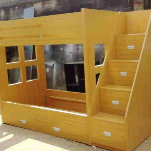 Double Bunk Bed - Cherry