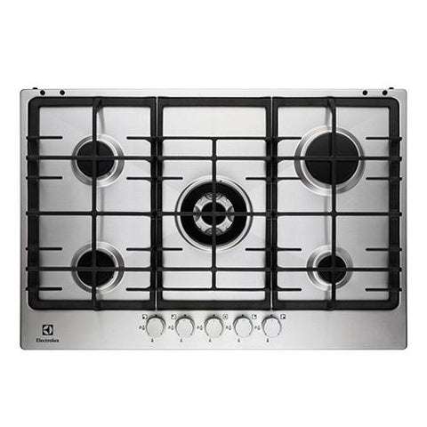 Electrolux | Stainless Steel Gas Hob, 4 burners, 60cm,