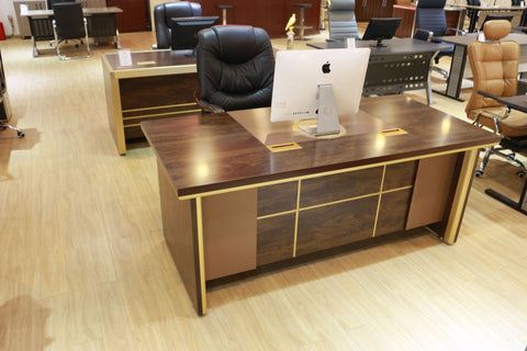 Executive Office Table With Extension - 1.6 Meter(BG261)