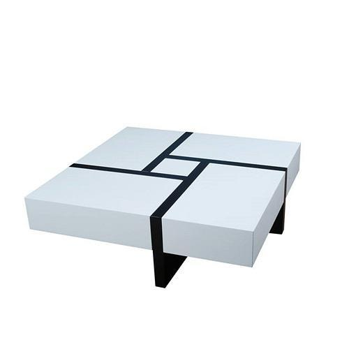 Expandable Coffee table With Drawer