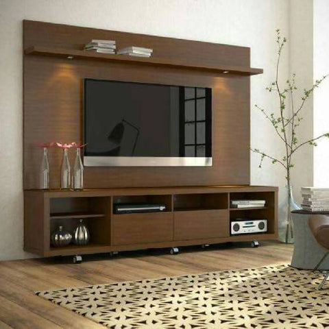 Explorer TV Stand Wall Unit with Light.