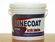Finecoat Acrylic Emulsion Paint-4 Litres