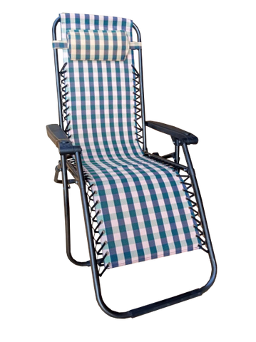 Folding Outdoor Chair-Checker