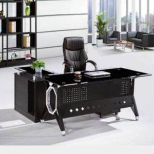 Glass Executive Desk - L Shape