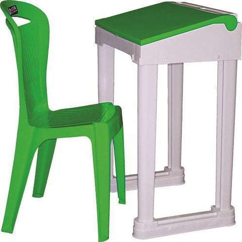 Graduate Flip Top Desk + Demighty Chair Set
