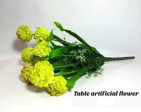 Green Artificial Table Flower for Vases