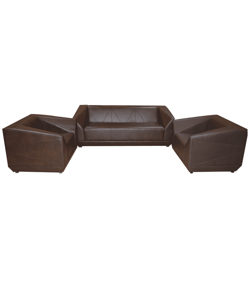 Hog Leather 5 Seats Sofa Set-SA300