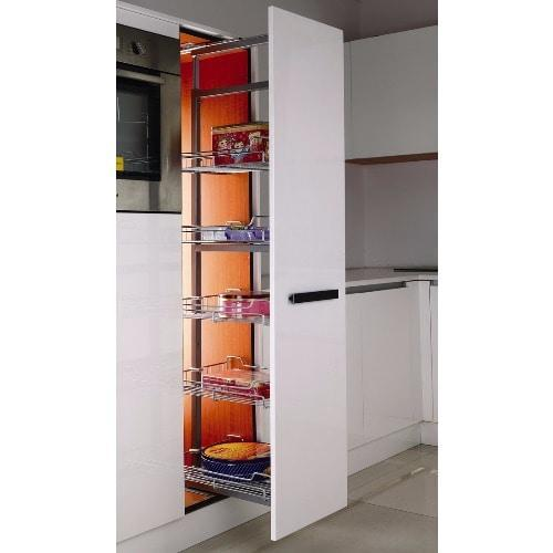 Integrated Cabinet Pull Pantry - 5 Layers - Heavy Duty Slide