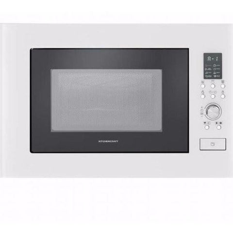 KITCHENCRAFT Built-in Microwave Oven + Grill - MW825W01