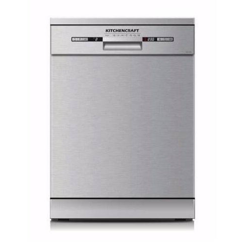 KITCHENCRAFT Smart Dishwasher - Stainless Steel - Energy Efficient Class A++