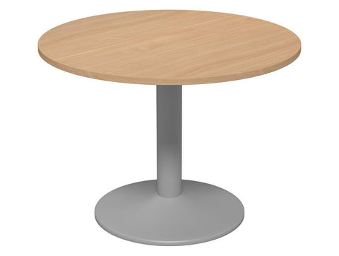 Kito Round Meeting Table with Trumpet Leg