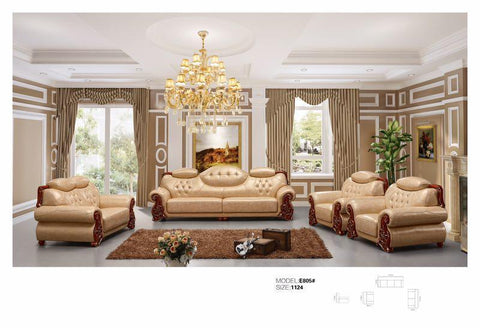 Kloe Leather Sofa Set-E805