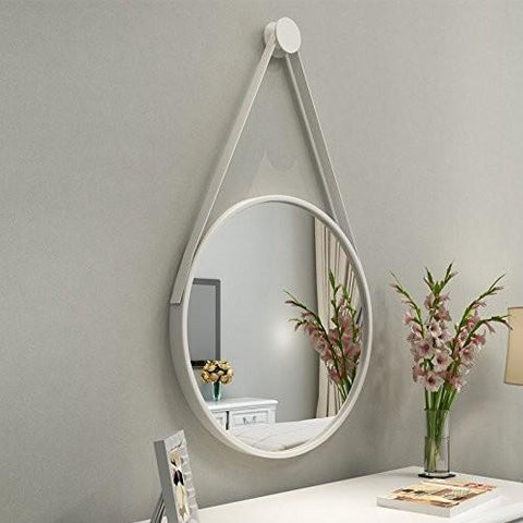 Leather LED Light Mirror