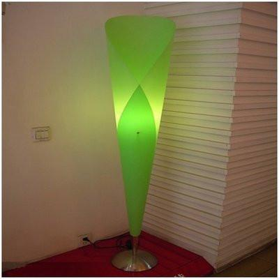 Lily Floor Lamp - Green