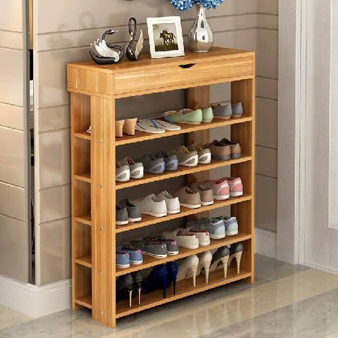 Linea Shoe Rack - 5 Step.