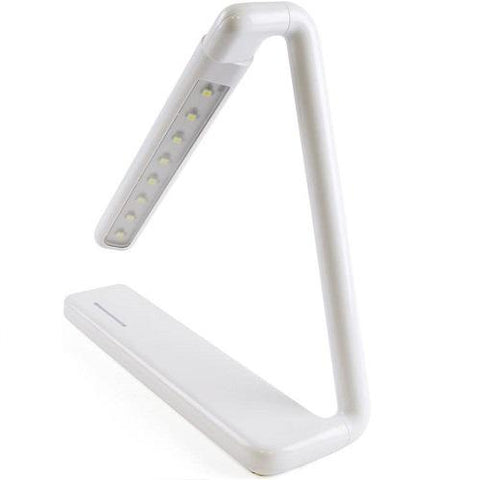 "LLOYTRON L1616WH 2 W LED ""Gamma"" Rechargeable Touch Study Desk Lamp"