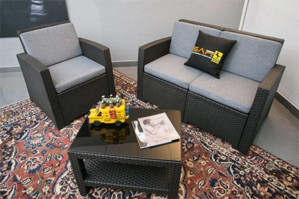 Lugano 3 -Seater Lounge Set
