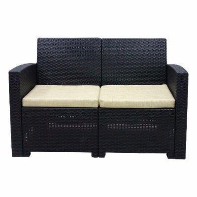 LUGANO Double Lounge Chair + Cushions