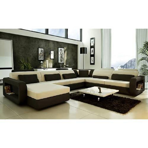Magnificent U-Shaped Sofa Set