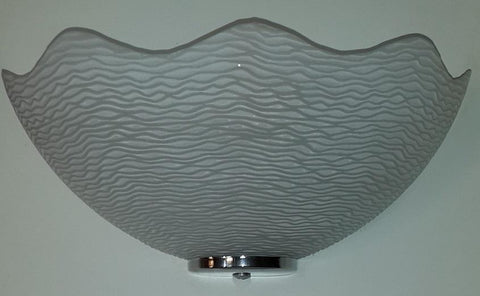 MB0043 Wall Light with White Glass