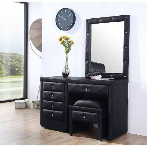 Medarene Dressing Table( Crystal buttons)