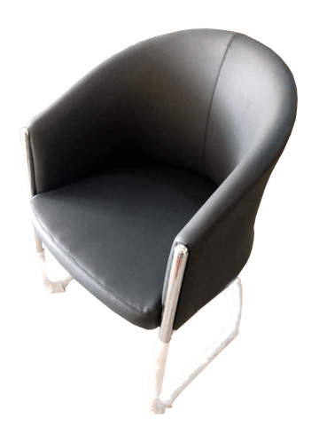 Miotto PU Leather Tub Single Lounge Chair