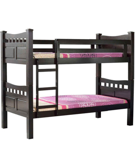 Mollycoddle Bunk Bed in Cappuccino Finish- 6x3ft (without mattress)