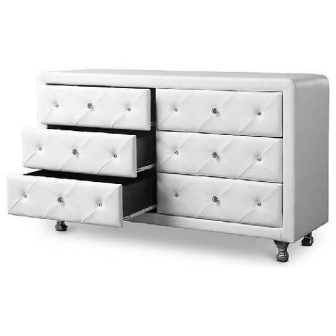 Neutron Uphostered Dresser/Drawer Chest