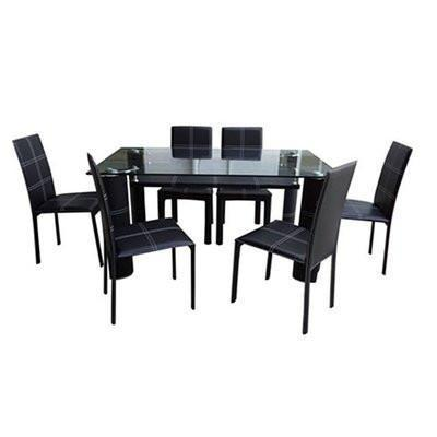 Octavia Dining Table + 6 Chairs