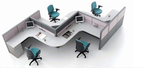 Open Office Workstation-4pers