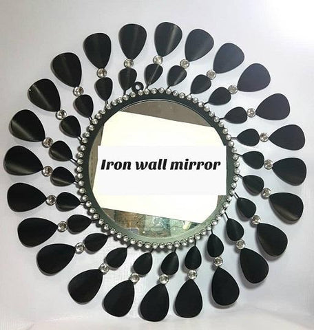 Pearl with Stones wall Mirror